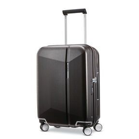 "Samsonite Etude 20"" Spinner in the color Black/Bronze."