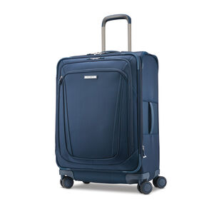 "Samsonite Silhouette 16 25"" Expandable Spinner in the color Evening Teal."