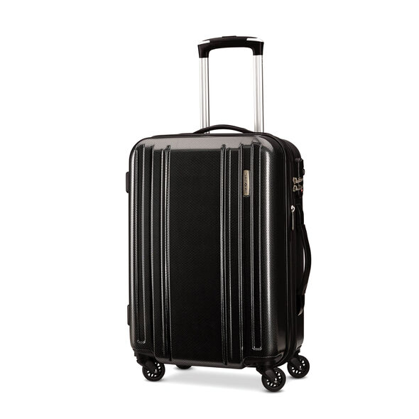 """Samsonite Carbon 2 20"""" Spinner in the color Silver."""