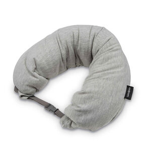 Samsonite Microbead 3-in-1 Neck Pillow in the color Frost Grey.
