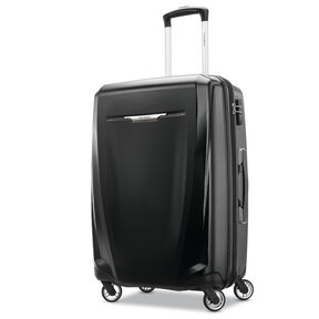 "Samsonite Winfield 3 DLX 25"" Spinner in the color Black."