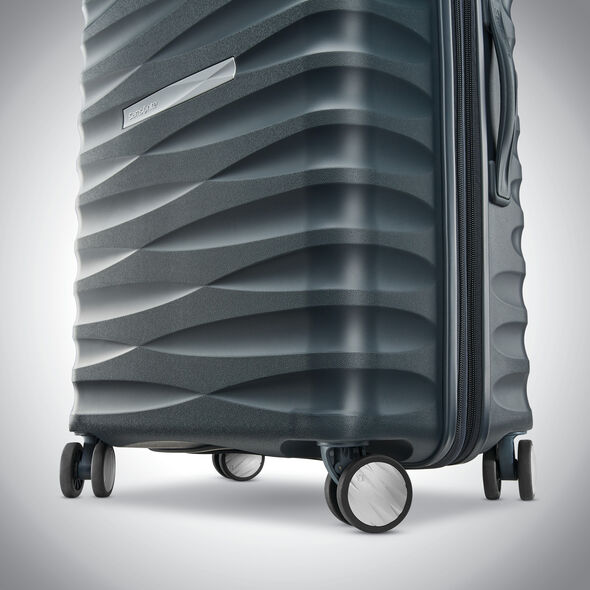 "Samsonite Voltage DLX 20"" Spinner in the color Dark Graphite."