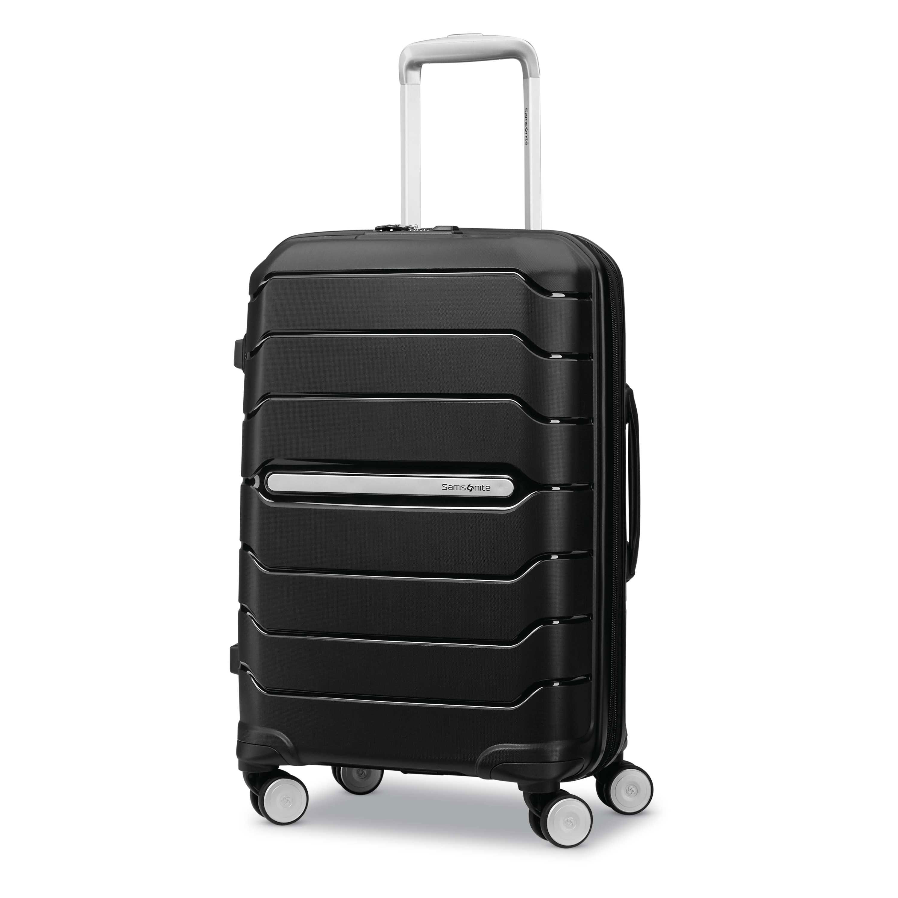 Samsonite Freeform Hardside Expandable with Double Spinner Wheels Black