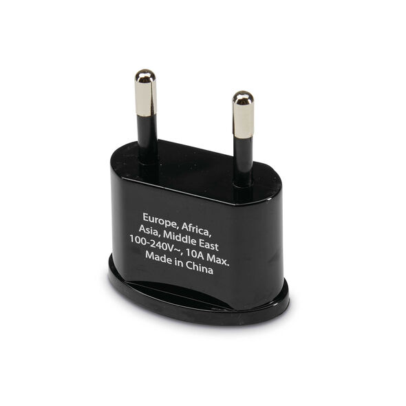 Individual Country Power Adapter Plugs - EU in the color Black.