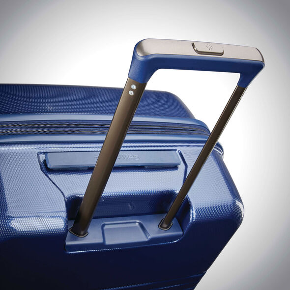 "Samsonite Spettro 20"" Spinner in the color Blue."