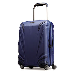 "Samsonite Silhouette XV 21"" Hardside Spinner in the color Twilight Blue."