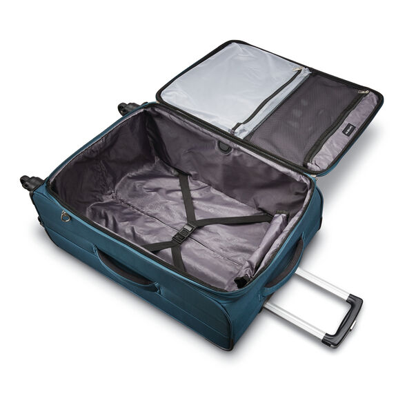 "Samsonite Advena 25"" Expandable Spinner in the color Teal."