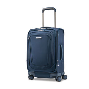 Samsonite Silhouette 16 Expandable Carry-On Spinner in the color Evening Teal.
