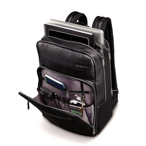Business Slim Backpack in the color Black.