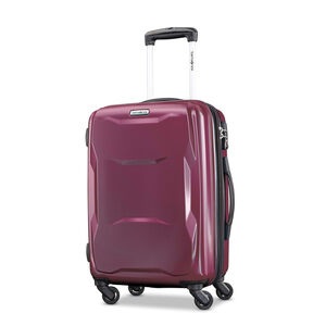 "Samsonite Pivot 20"" Spinner in the color Merlot."