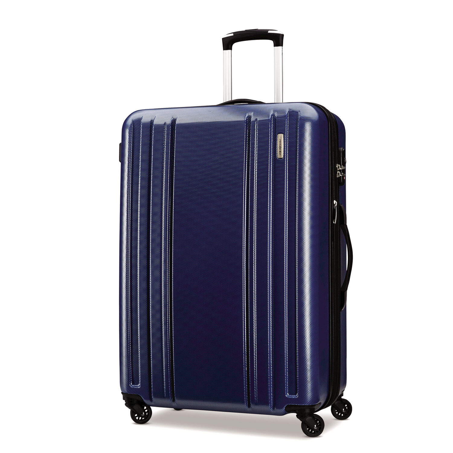 """Samsonite Carbon 2 28"""" Spinner in the color Navy."""