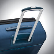 Samsonite SoLyte DLX Carry-On Expandable Spinner in the color Mediterranean Blue.