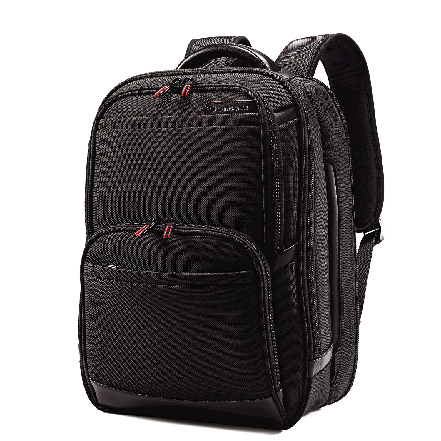 Samsonite Pro 4 DLX Perfect Fit Urban Laptop Backpack in the color Black. 8bb1a15962701