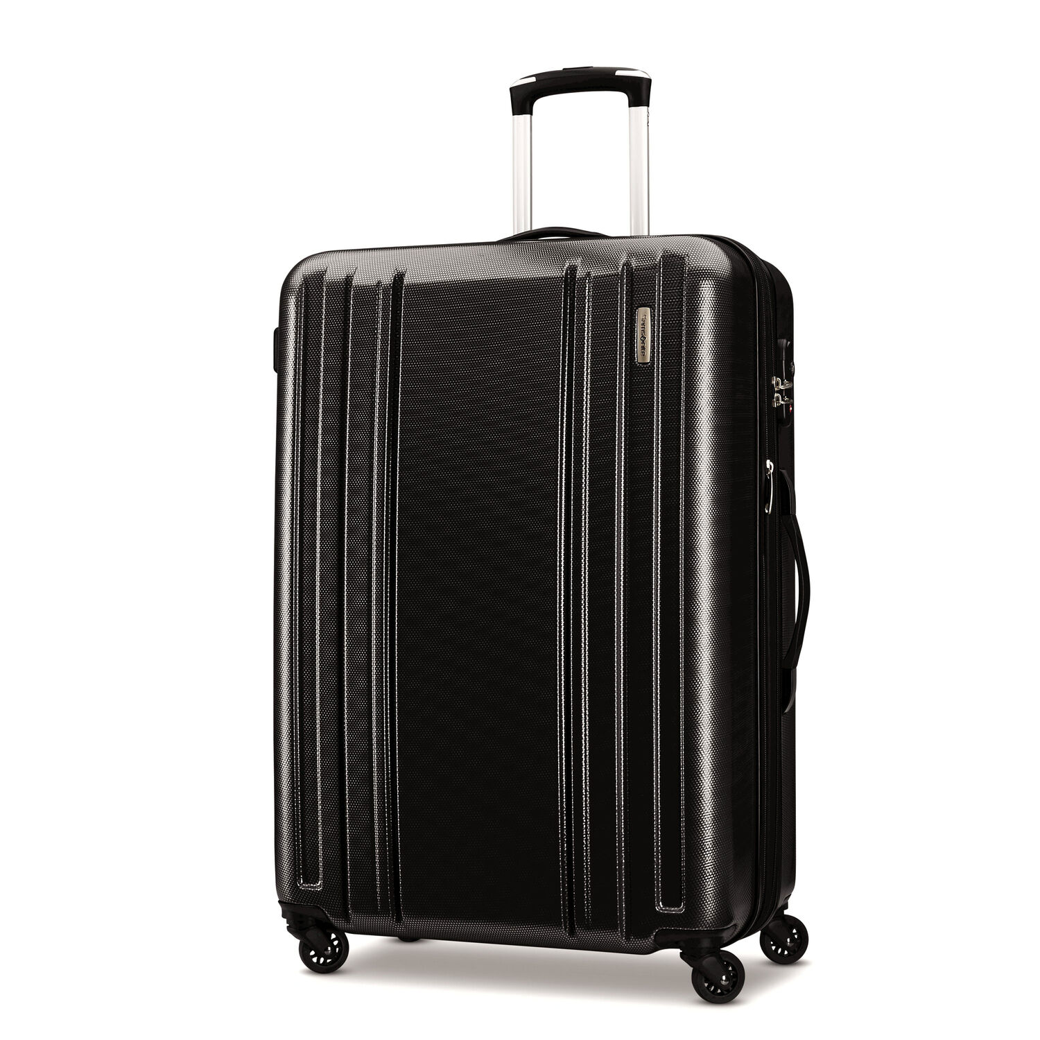 """Samsonite Carbon 2 28"""" Spinner in the color Silver."""