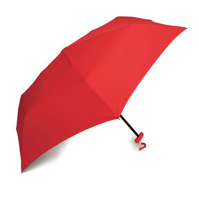 Samsonite Samsonite Manual Flat Compact Umbrella in the color Red.
