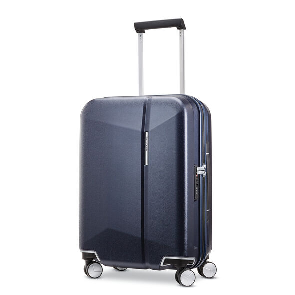 "Samsonite Etude 20"" Spinner in the color Dark Navy."