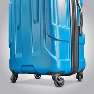 "Samsonite Centric 24"" Spinner in the color Caribbean Blue."