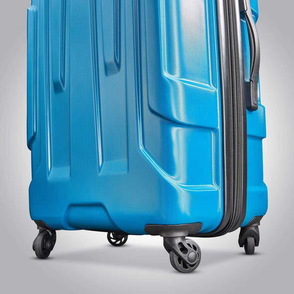 Samsonite Centric 3 Piece Set in the color Caribbean Blue.
