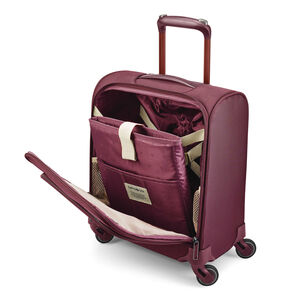 Flexis Underseater Carry-On Spinner in the color Cordovan.