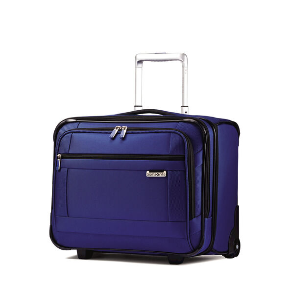 Samsonite SoLyte Wheeled Boarding Bag in the color True Blue.