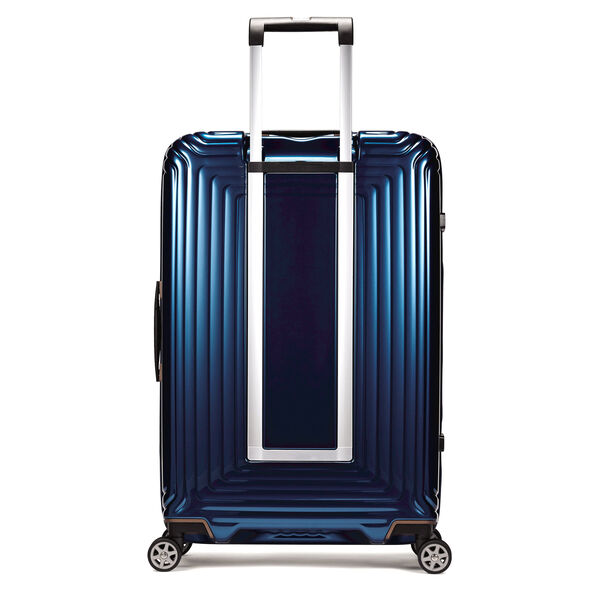 "Samsonite NeoPulse 28"" Spinner in the color Metallic Blue."