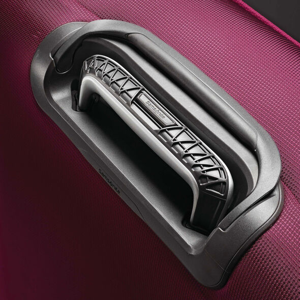 """Samsonite Eco-Nu 19"""" Expandable Spinner in the color Raspberry."""