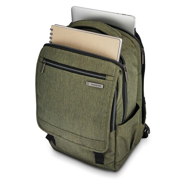 Samsonite Modern Utility Paracycle Backpack in the color Olive.