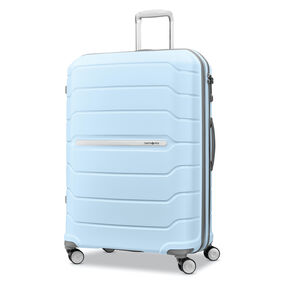 "Samsonite Freeform 28"" Spinner in the color Sky Blue."