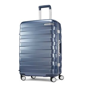 "Samsonite Framelock 25"" Spinner in the color Ice Blue."