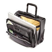 Samsonite DK3 Tote Roller Underseater in the color Charcoal.