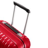 "Samsonite Chronolite 28"" Spinner in the color Chili Red."