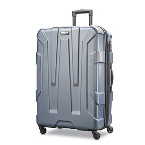 "Samsonite Centric 28"" Spinner in the color Blue Slate."