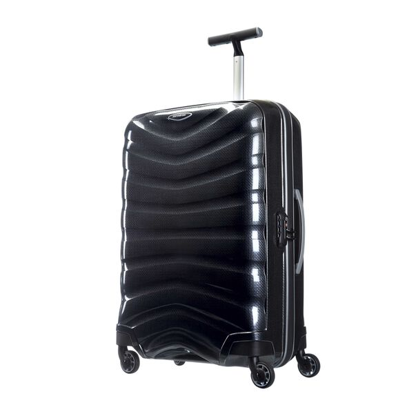 "Samsonite Firelite 25"" Spinner in the color Charcoal."