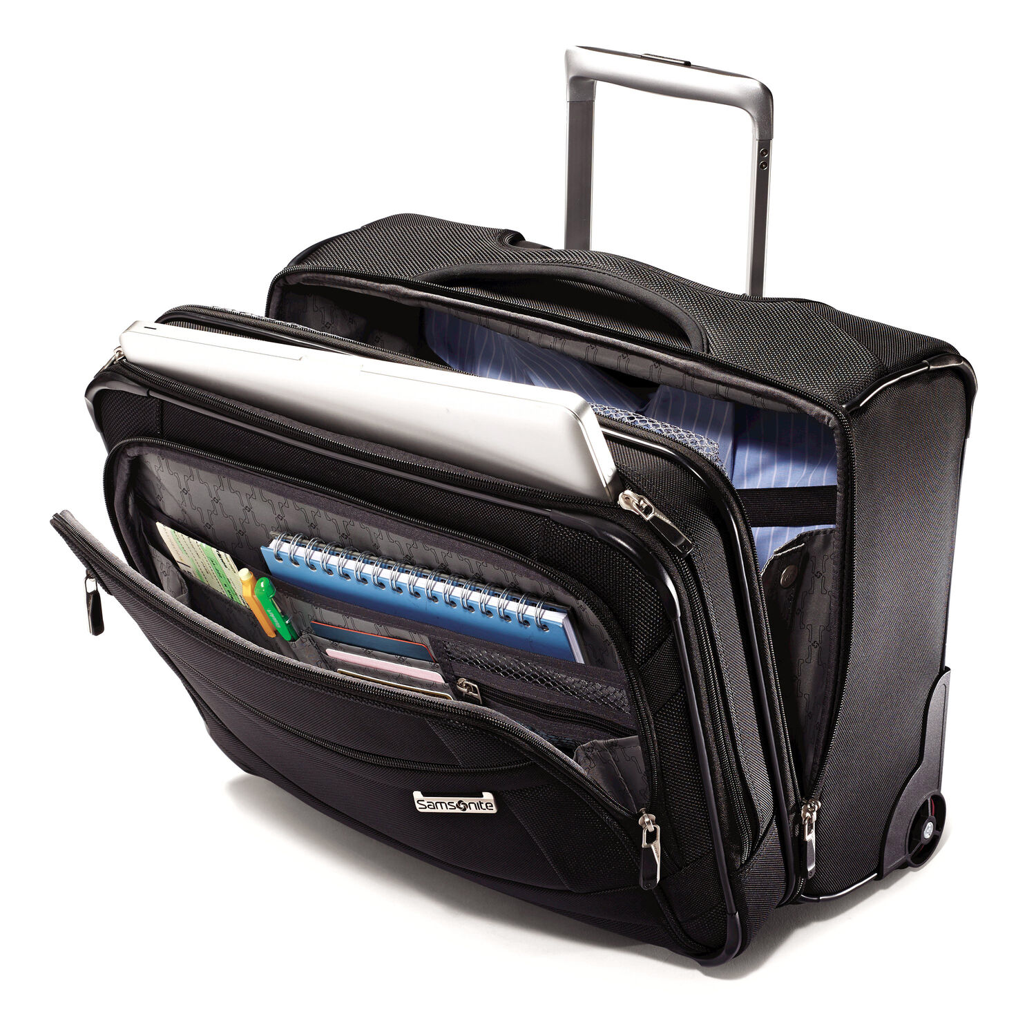 d28645f95313 Samsonite SoLyte Wheeled Boarding Bag in the color Black.