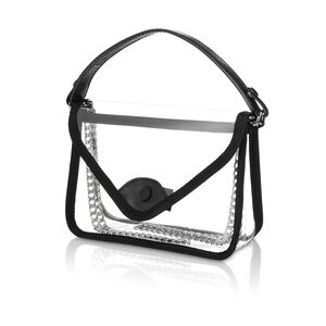 Go Clear Convertible Crossbody in the color Clear.