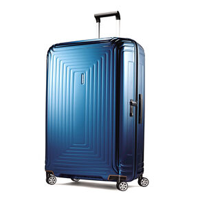 "Samsonite NeoPulse 30"" Spinner in the color Metallic Blue."
