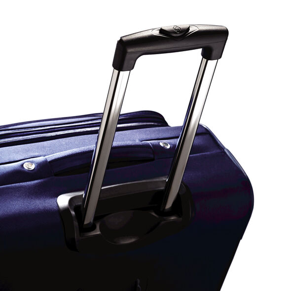 "Samsonite Bartlett 20"" Spinner in the color Sapphire."