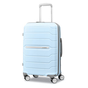 "Samsonite Freeform 21"" Spinner in the color Sky Blue."