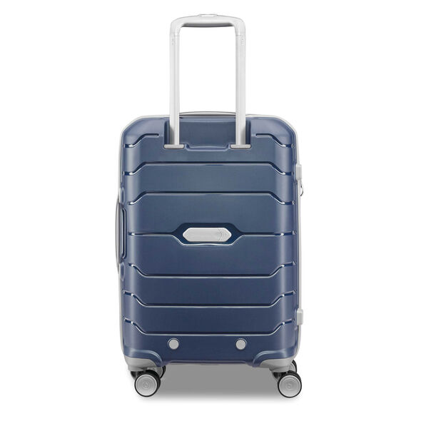 "Samsonite Freeform 21"" Spinner in the color Navy."