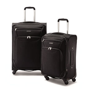 Samsonite 2 Piece Spinner Set in the color Black.