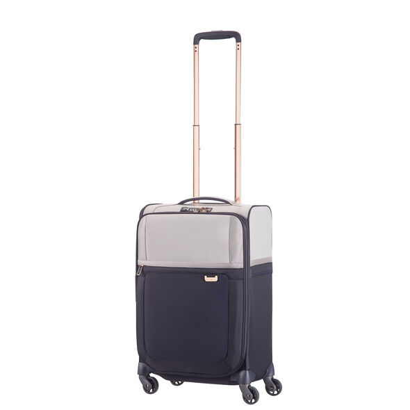 "Samsonite Uplite 20"" Spinner in the color Pearl/Blue."