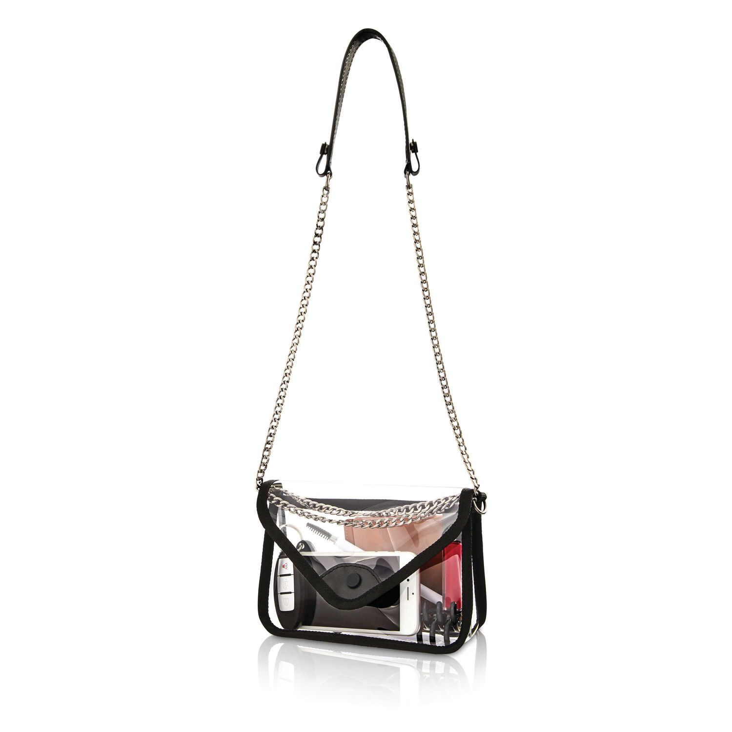 2d50e0472000 Samsonite Go Clear Convertible Crossbody in the color Clear.
