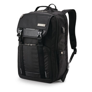 Carrier Tucker Backpack in the color Black.