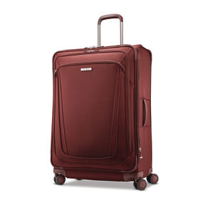 "Samsonite Silhouette 16 30"" Expandable Spinner in the color Cabernet Red."