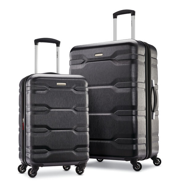 Samsonite Coppia DLX 2 Piece Set (SP CO/24) in the color Charcoal.