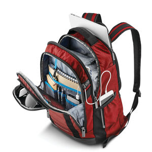 Carrier GSD Backpack in the color Classic Red.