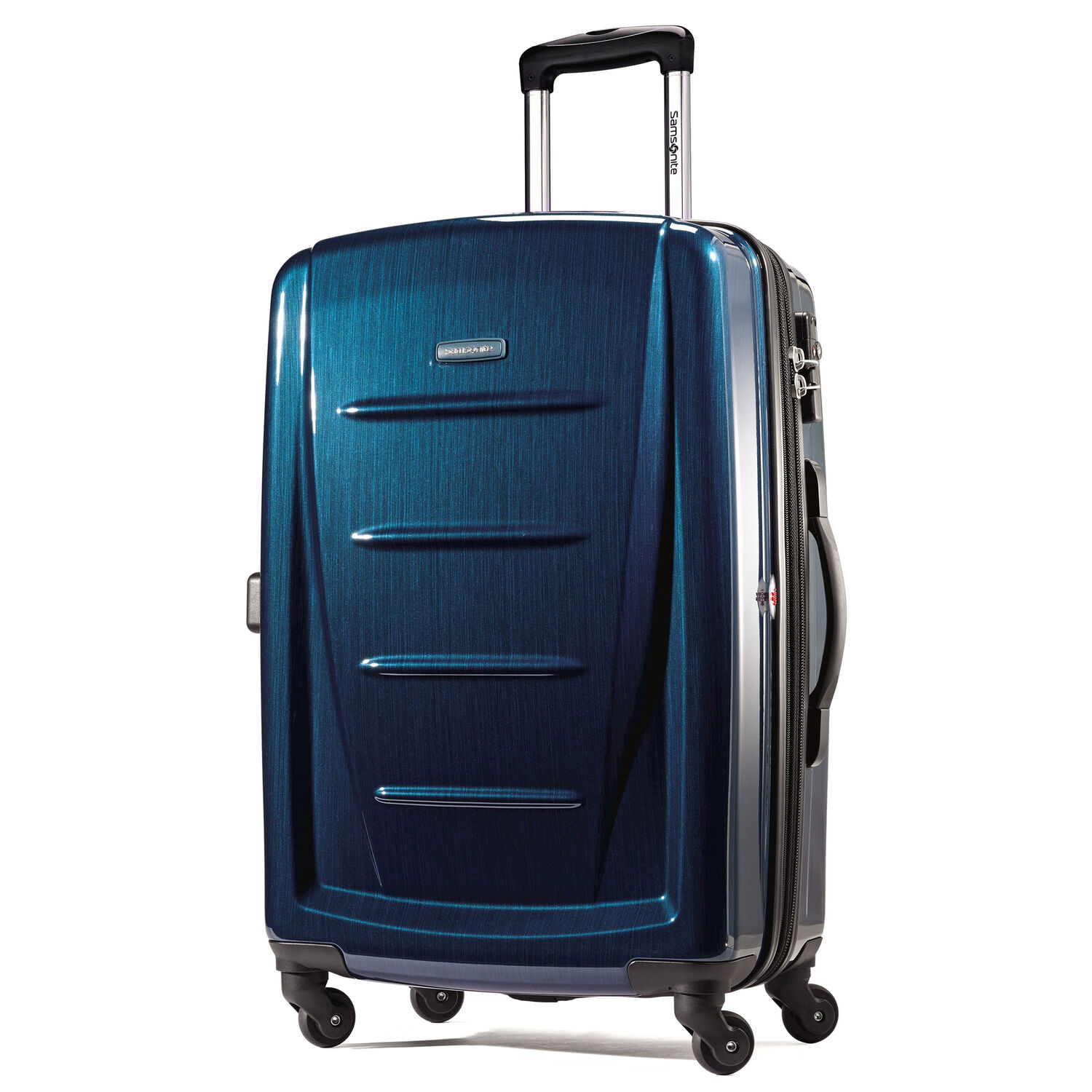 """Samsonite Winfield 2 Fashion 28"""" Spinner in the color Deep Blue."""