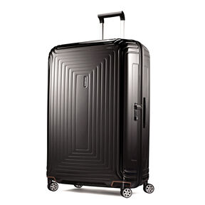 "Samsonite NeoPulse 30"" Spinner in the color Metallic Black."