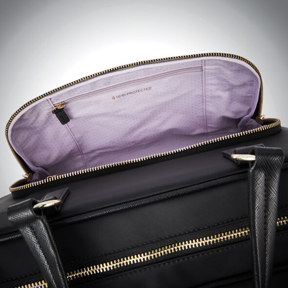 Samsonite Encompass Womens Convertible Overnight Brief in the color Black.
