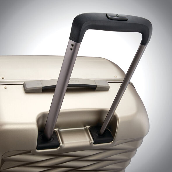 "Samsonite Fortifi 25"" Spinner in the color Dark Sand."